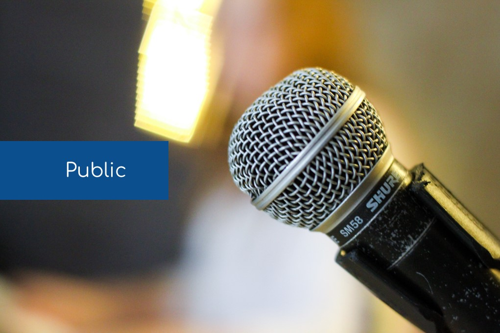 TCTA - Parler en public